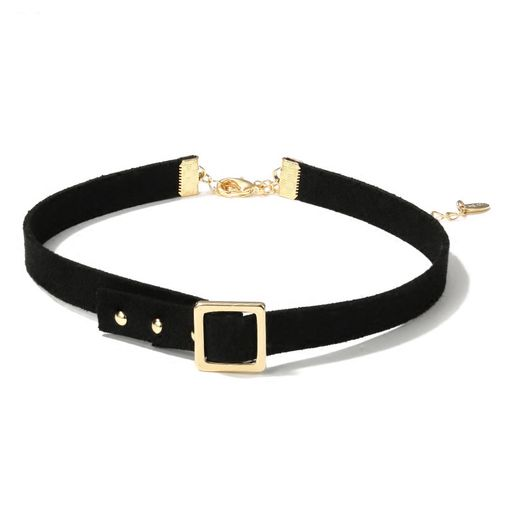 Square Strapped Belt Choker