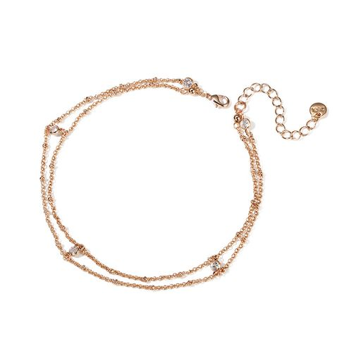Two-in-one Layer Diamond Connected Chain Choker