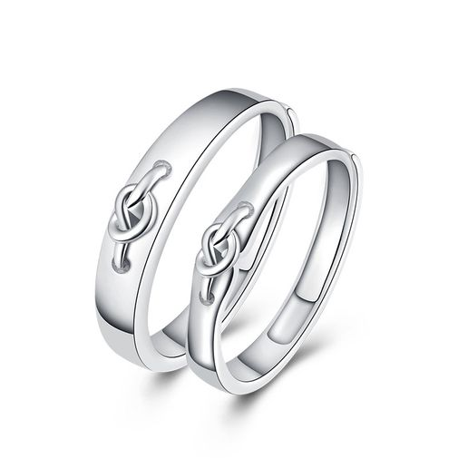 Heart Knot Adjustable Promise Rings