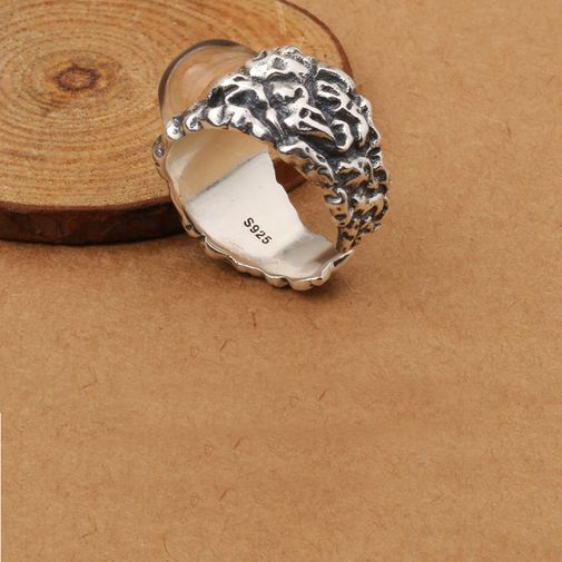 20mm Big Size Dome Men's Chunky Ring
