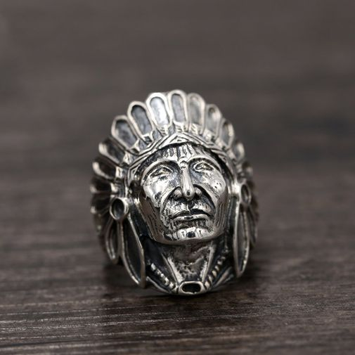 29mm Indian Chief Band Ring