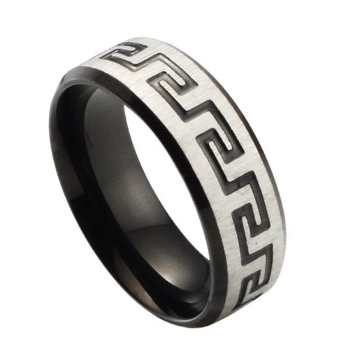 Men's Stainless Steel Wedding Band