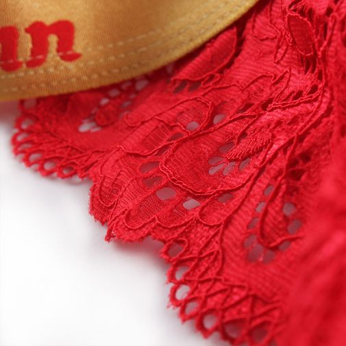 Red Lace Sexy Cotton Matching Couple Underwear